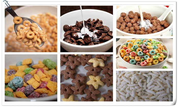 Breakfast Cereals Processing Line