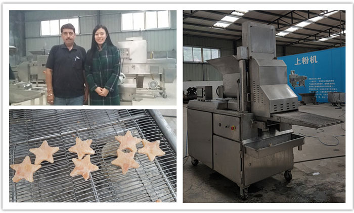 Visit Our Dog Jerky Machine Workshop With Indian Customers