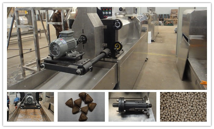 Cutting Device Of Pet Food Extruder