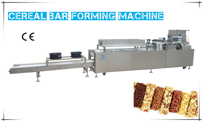 How Cereal Bar Is Produced By Cereal Bar Machine?