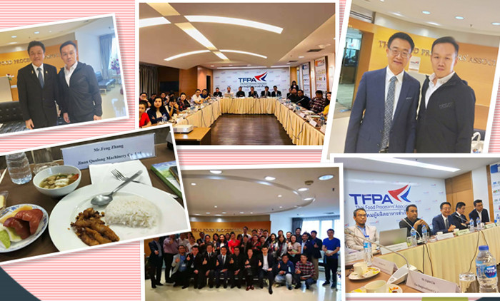 Meeting With President Of TFPA Talked About Puff Snacks Extruder
