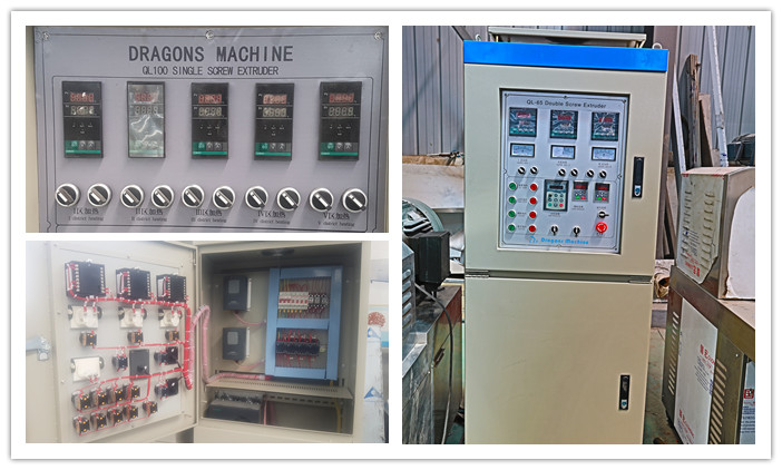 Show of Control Cabinet Of Pet Food Processing Line