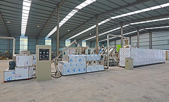 Pet Food Extrusion Machine Has Been Completed