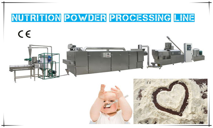 The Work Principle Of Baby Food Processing Line