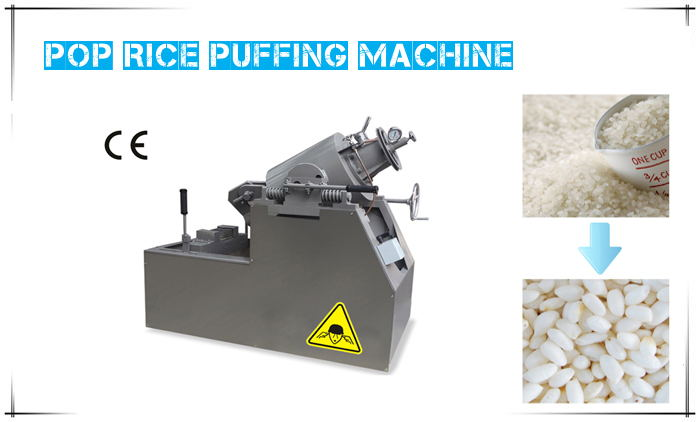 pop rice puffing machine