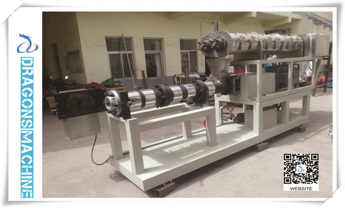 Pet Food Extruder Finished By Dragons Machine