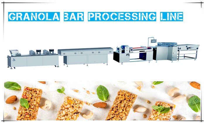 Granola Bar Processing Line