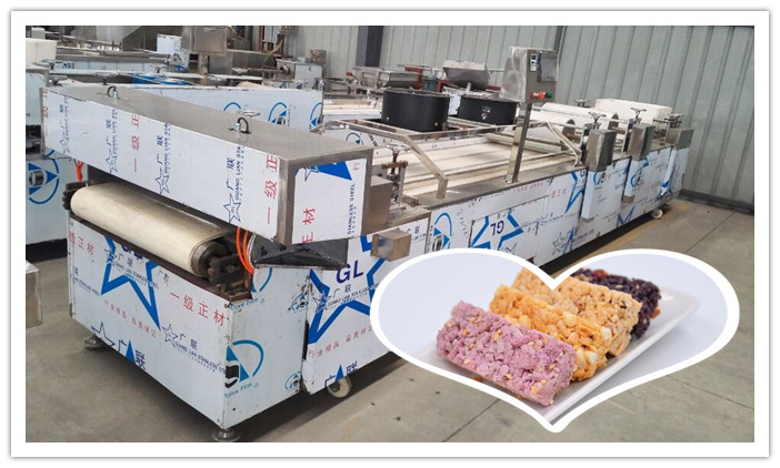 Nuts Bar Forming Machine Is Finished